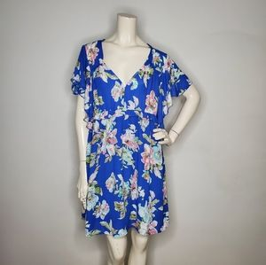 Umgee Women's Dress Floral NWT Size L